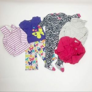 Other - Lot of 6 Baby Girl Clothing Items 18 Months